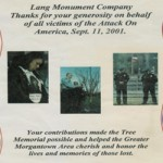 Lang Monument Co. Inc.